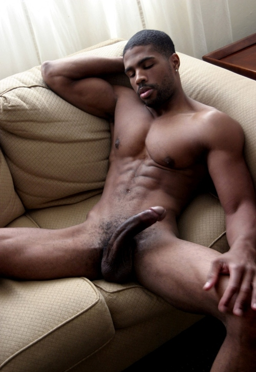 hombres desnudos De negros
