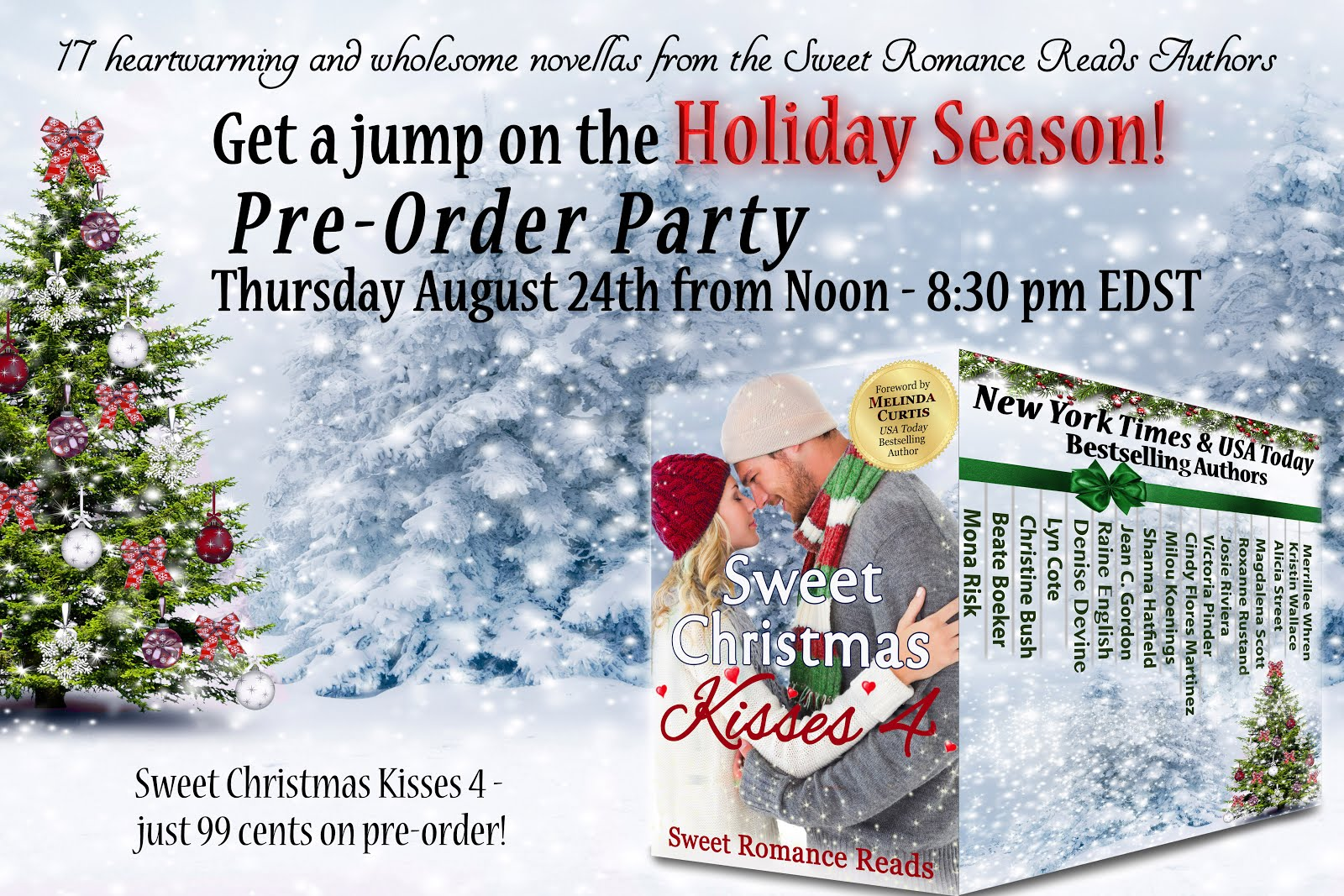 Sweet Christmas Kisses 4 Pre-Launch Party