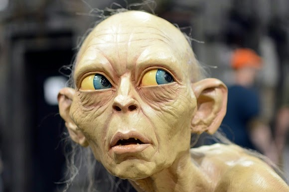 Weta's Gollum at Denver Comic Con, 2014