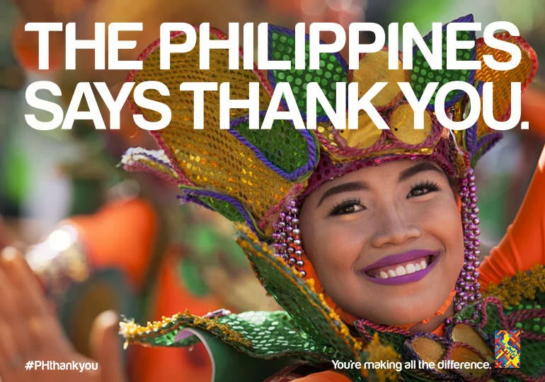 The Philippines Say Thank You