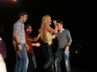 Shakira y el barcelona