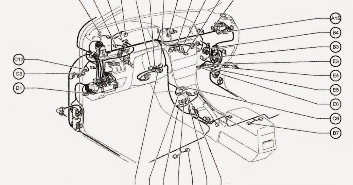 manuales de mecanica  esquema cableado panel de