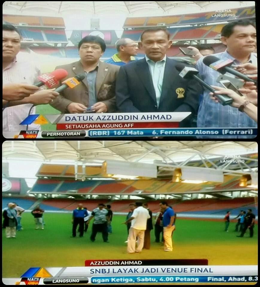 Malaysia Vs Thailand 20 Disember 2014