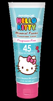 hello kitty face sunscreen