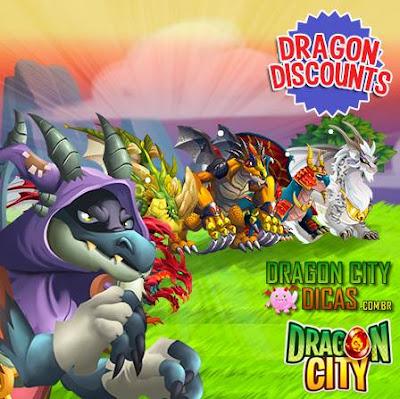 Ofertas de Sábado - Promoção de Dragões!