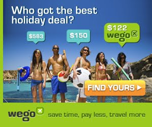 Wego - Best Holida Deal  ( click banner and link for more info )