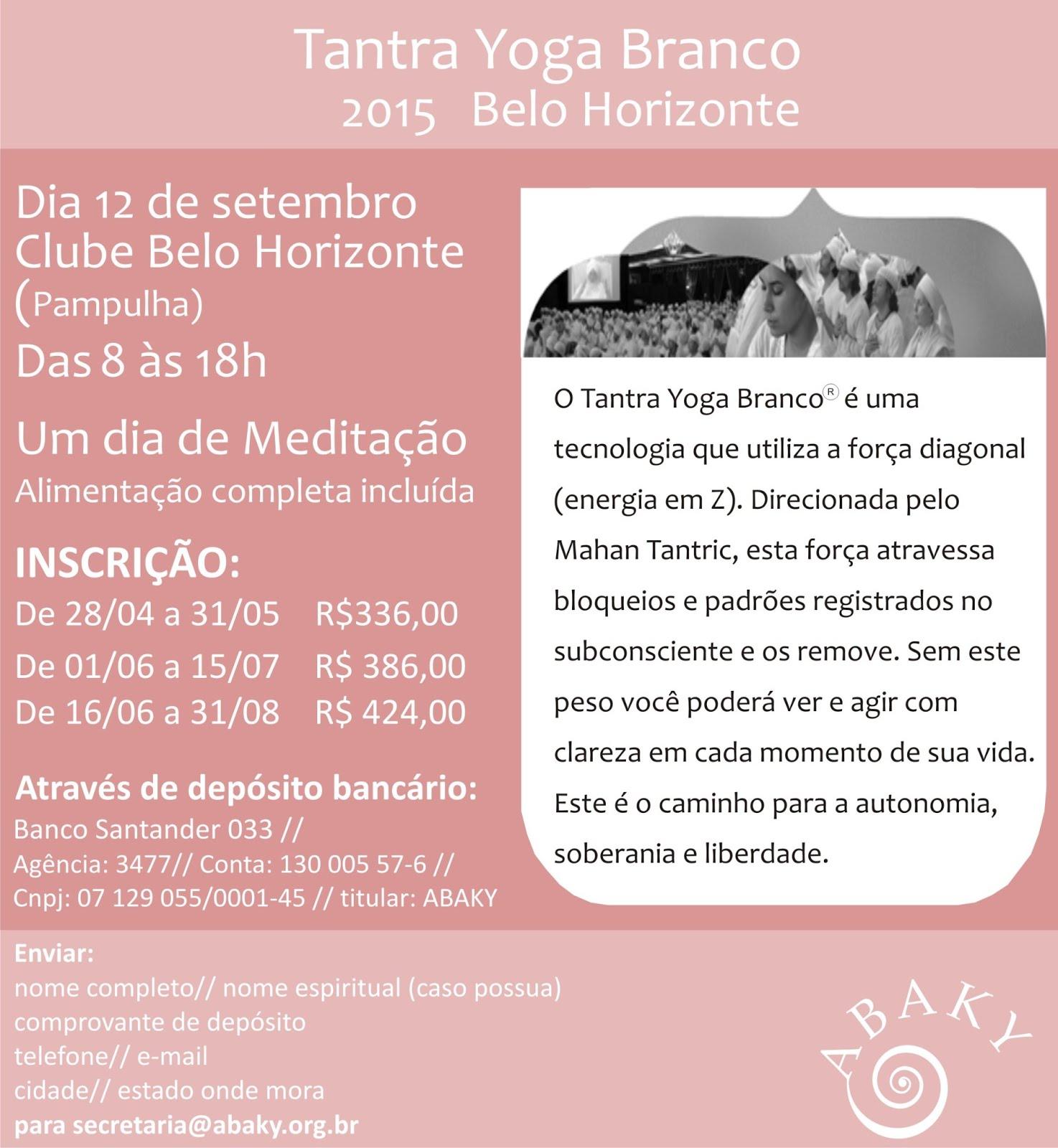 Tantra Yoga Branco 2015