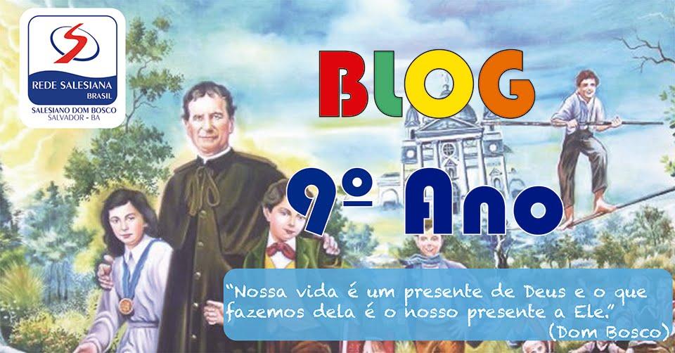 Salesiano Dom Bosco - 9º ano