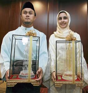 TAHNIAH QARI MALAYSIA DAN QARIAH INDONESIA JUARA UJIAN TILAWAH AL QURAN PERINGKAT ANTARABANGSA