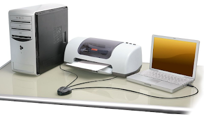 Share one USB printer with more than one PC