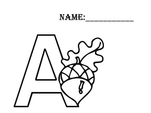 Letter S Snake Coloring Page