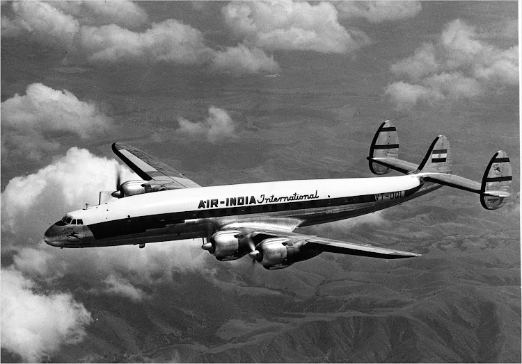 An Air India International Constellation Aircraft (VT-DGL) - 1950