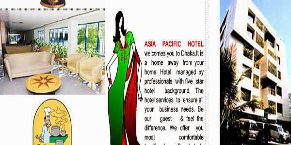 Room Tariffs of Asia Pacific Hotel in Baridhara-Dhaka