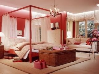cuartos rosa románticos