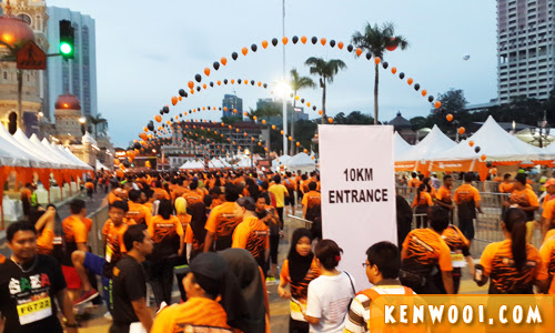 tm fan run 2014 10km