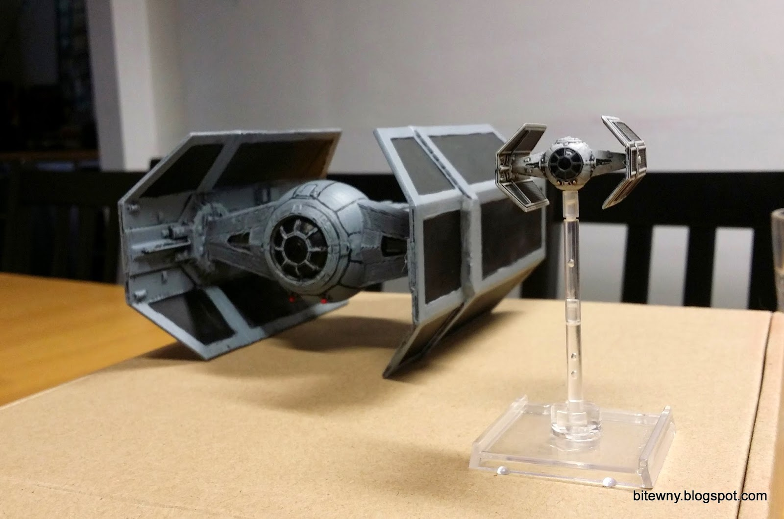 Star Wars Tie Advanced X1 X Wing miniatures printed 3d