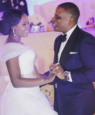Oyindamola daughter of ex Osun state gov Oyinlola wedding