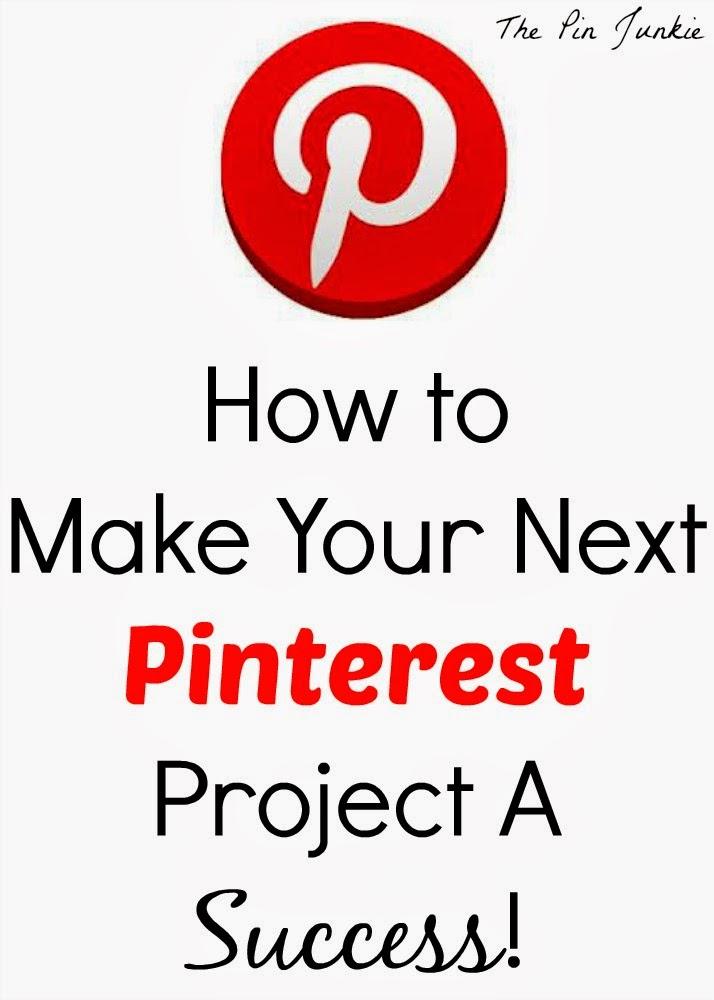 make your next pinterest project success