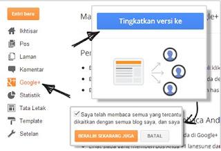 Beralih Dari Profil Blogger Ke Google Plus