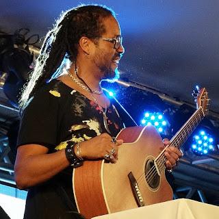 Serginho Moah, na Festa Nacional da Música.