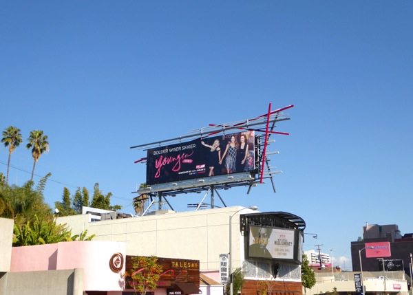 Younger season 2 billboard Sunset Strip
