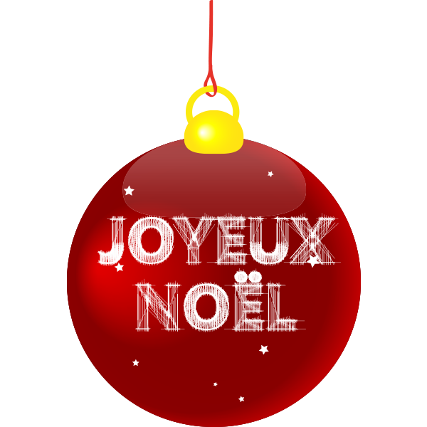 Merry Christmas And Happy New Year In French
