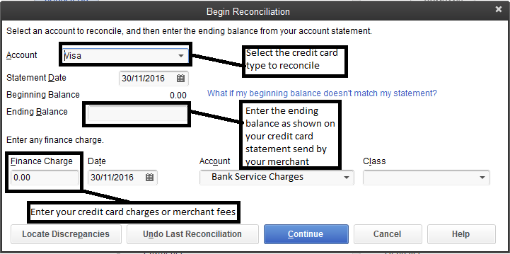 accounting how to reconcile an account