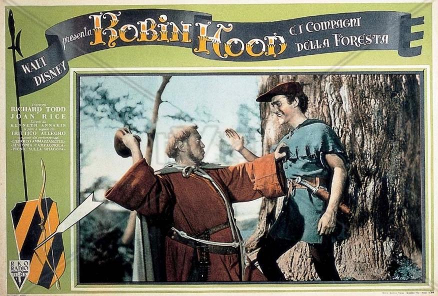 ADVENTURES OF ROBIN HOOD RICHARD GREENE LOBBY CARD