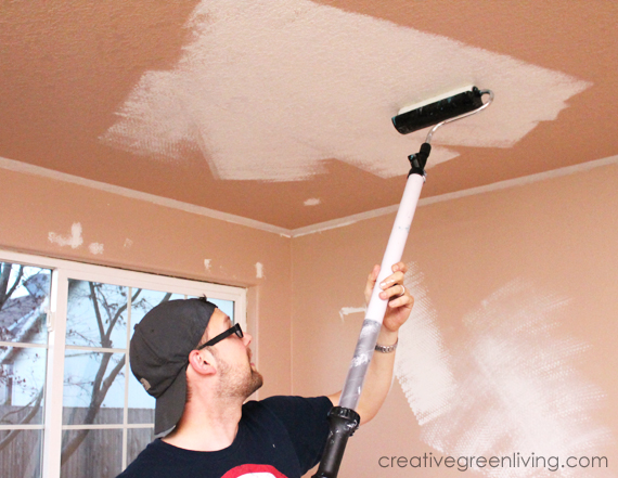 The Easiest Way To Paint A Ceiling   Tips And Tricks You Need To Know!    Creative Green Living