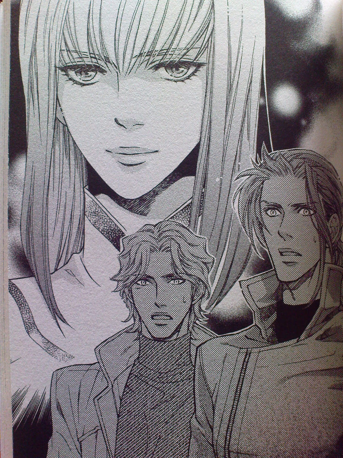 The yaoi flames within me ai no kusabi volume 7 so what do you say they kinda looked alike right or was it just me fandeluxe Gallery