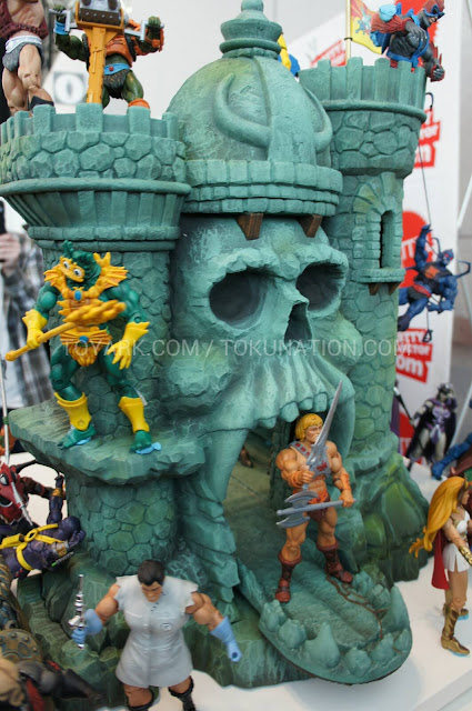 Mattel Matty Collector 2013 Toy Fair Display - Masters of the Universe MOTU Classics Castle Grayskull
