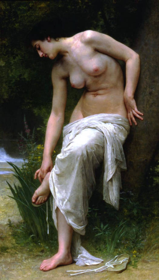 After the Bath 1894. Óleo sobre tela