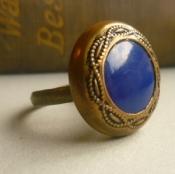cobalt blue ring
