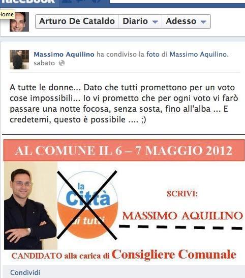 Consigli elettorali! Massimo+Aquilino+facebook+-+Nonleggerlo