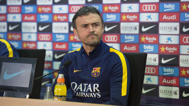 Rueda de prensa de Luis Enrique previa al Barça-Athletic