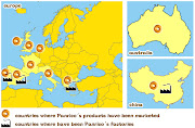 . Hiperligações para esta mensagem mapa mundo