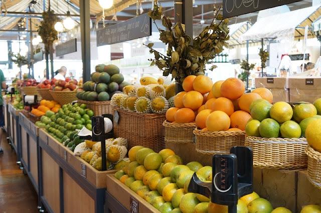 Eataly (SP): barraquinhas com frutas