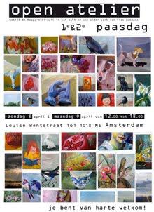 open atelier paasweekend