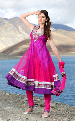 latest long salwar kameez