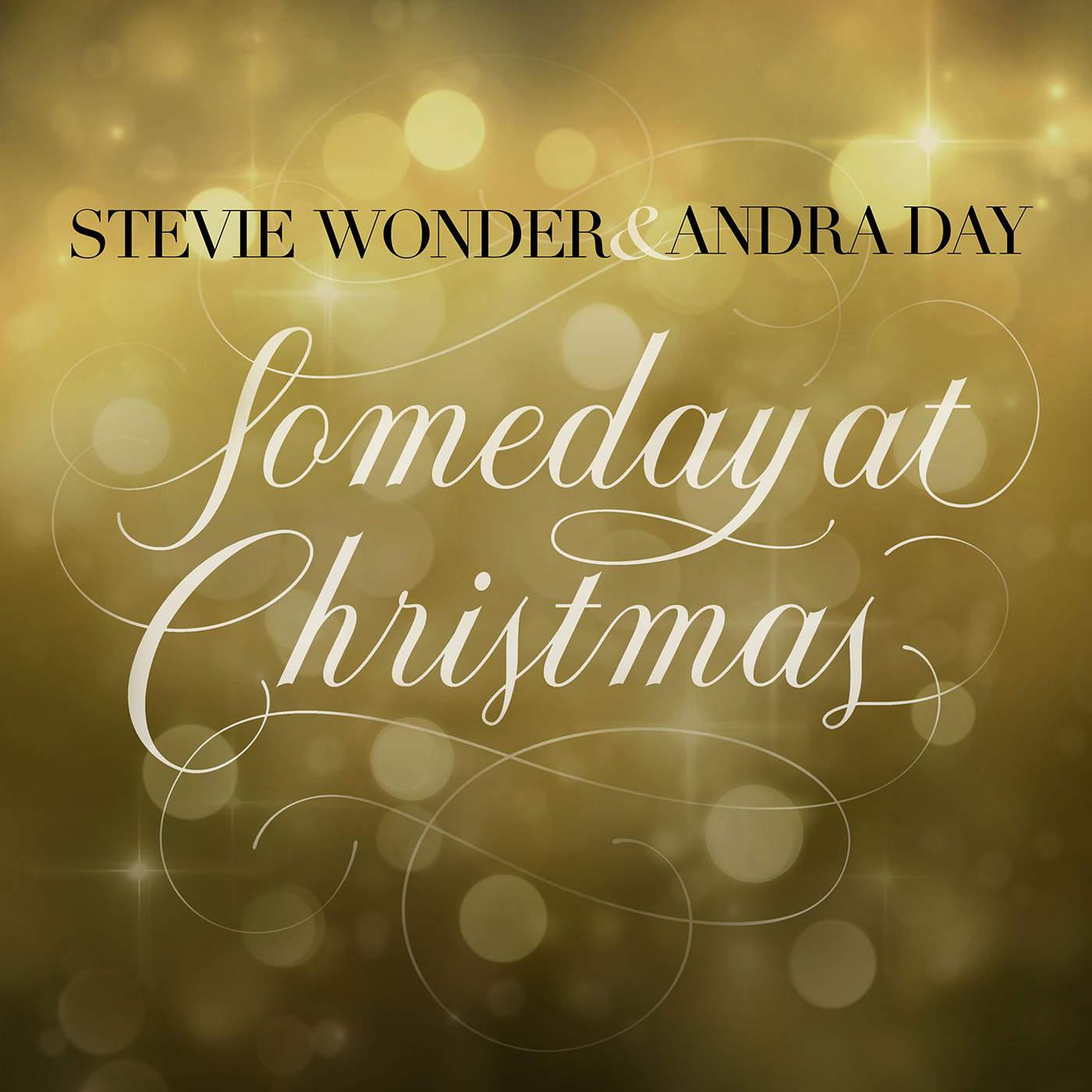 Stevie Wonder & Andra Day - Someday at Christmas - Single