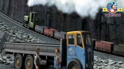 Luke the train Thomas the tank engine and friends movie mystery on the blue mountain tops quarry pit