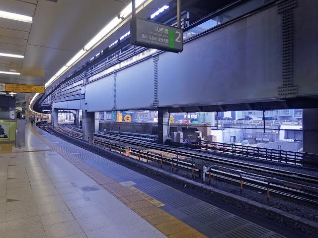 線路,JR渋谷駅〈著作権フリー無料画像〉Free Stock Photos