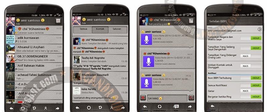 download BBM Mod Tema Police Story Versi 2.5.1.46 + Clone free stiker