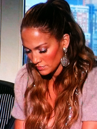 american idol jennifer lopez makeup. lane: Jennifer Lopez