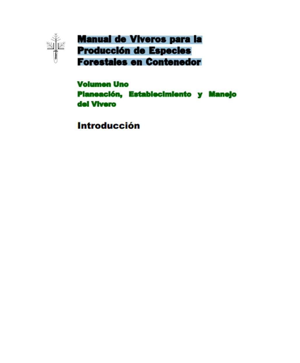 ingenieria forestal documento manual de viveros para la