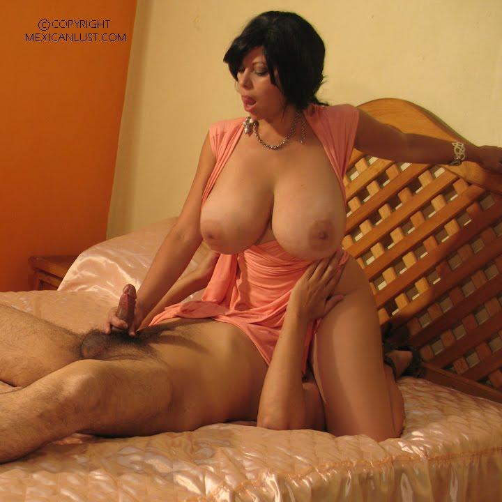 Maritza, madura mexicana para el infarto