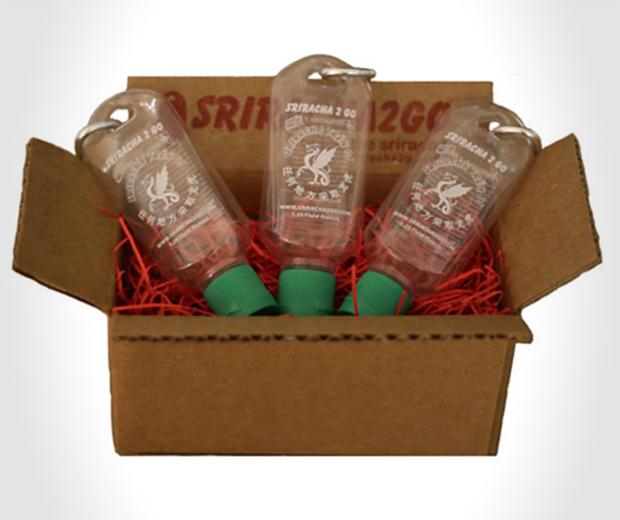 Sriracha 2 Go Bottles