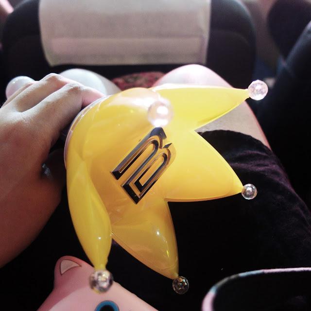 My trusty BIGBANG lightstick | heyladyspring.com