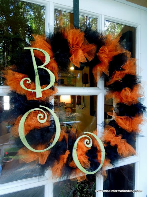 Be Different Act Normal Easy Diy Halloween Wreaths