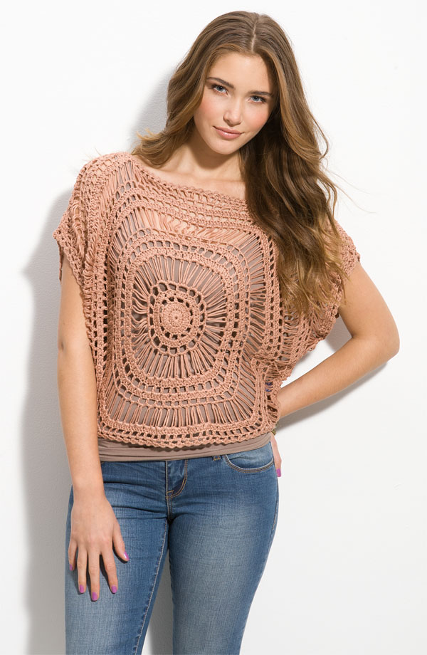 Pinch of Katy: Crochet Inspiration: Summer Tops